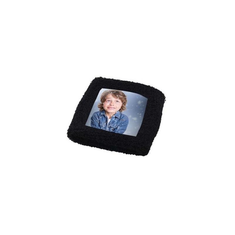 Bandeau poignet noir photo