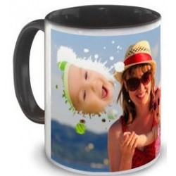 Tasse noire pele mele photo