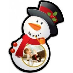 Magnet bonhomme de neige photo