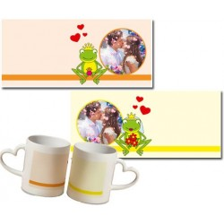 Duo mugs photos mariage