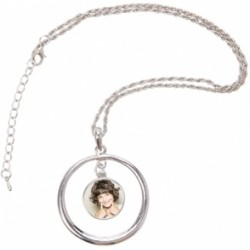 Collier fantaisie cercle photo