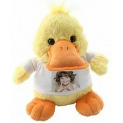 Peluche canard personnalisable