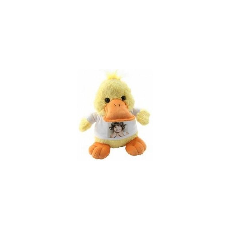 Peluche canard personnalisable