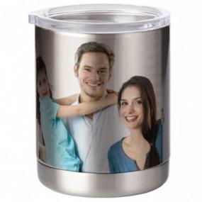 Grand mug inox à personnaliser