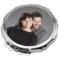 Miroir rond design photo