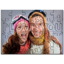 Puzzle I love you à personnaliser