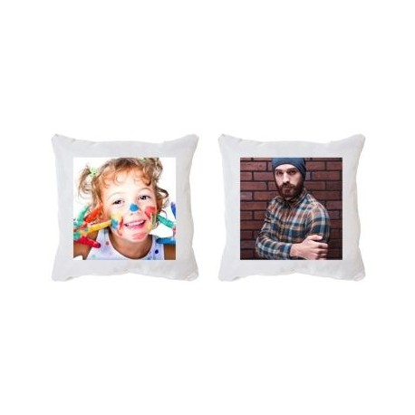 Housse coussin recto verso