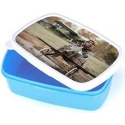 Lunch box bleue photo