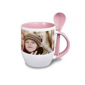 Mug rose personnalisé