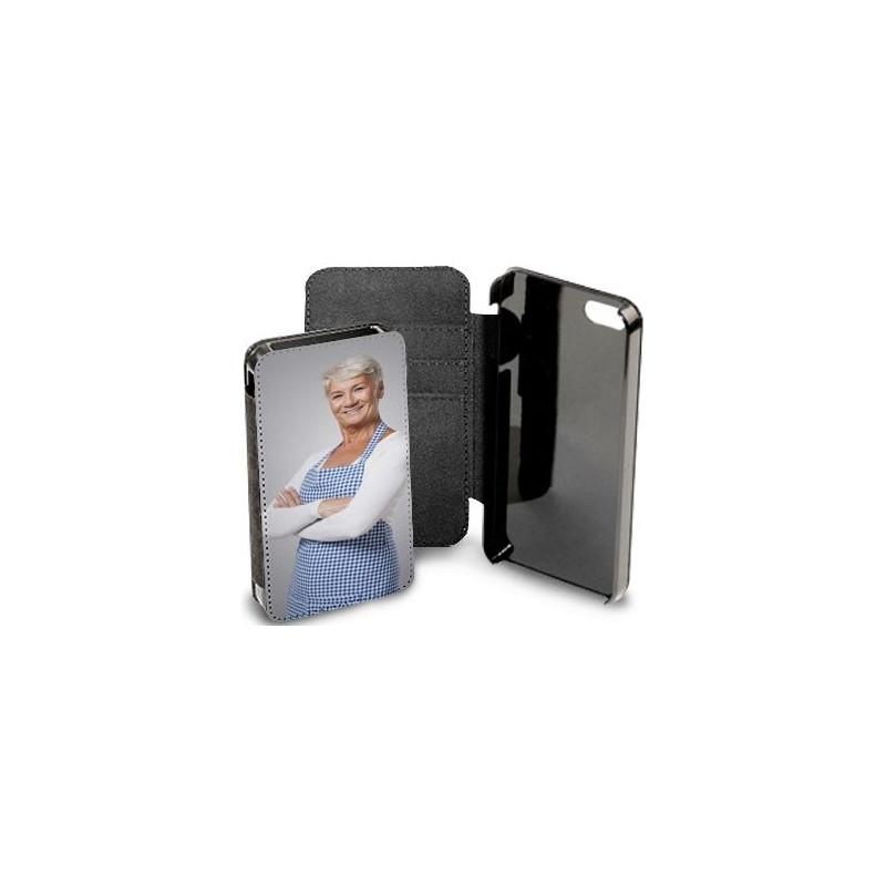 Etui Iphone 5 noir personnalisé