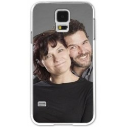 Coque galaxy S5 blanche photo