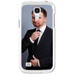 Coque samsung S4mini blanche photo