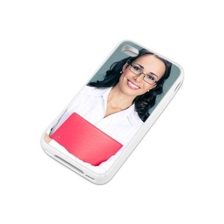 Coque photo iphone 4 blanc