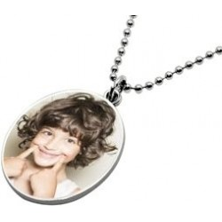 Dog tag homme ovale photo